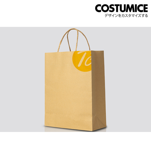 Costumice Design brown kraft small paper bag 1