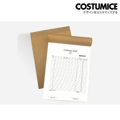 Costumice design A4 size Multipurpose bill book 1