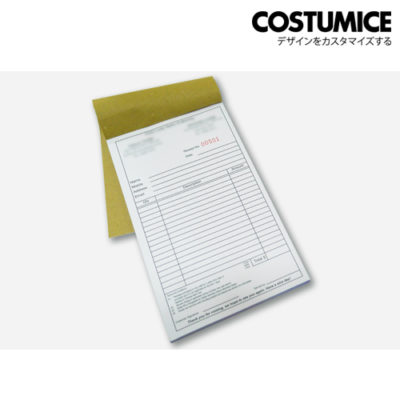 Costumice design Multipurpose bill book 2