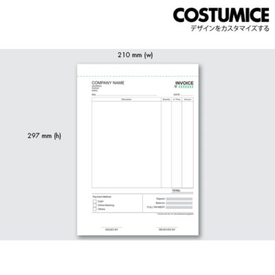 Costumice design large size Multipurpose bill book 2