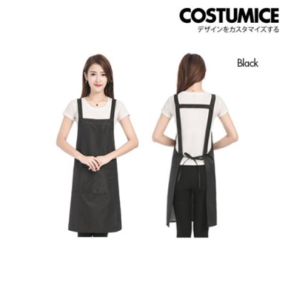 Costumice Design Oil Water Stain proof apron 2 Black