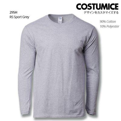 Costumice Design Premium Cotton long sleeve t-shirt-RS Sport Grey