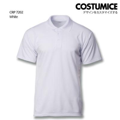 Costumice Design Quick Dry Polo CRP 7202 white