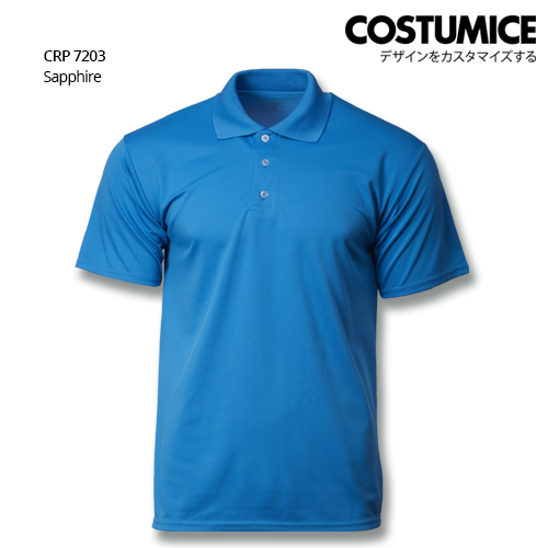 Costumice Design Quick Dry Polo CRP 7203 sapphire