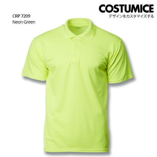 Costumice Design Quick Dry Polo CRP 7209 Neon Green