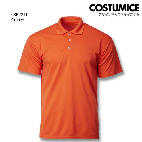 Costumice Design Quick Dry Polo CRP 7211 orange