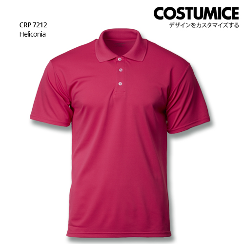Costumice Design Quick Dry Polo CRP 7212 Heliconia