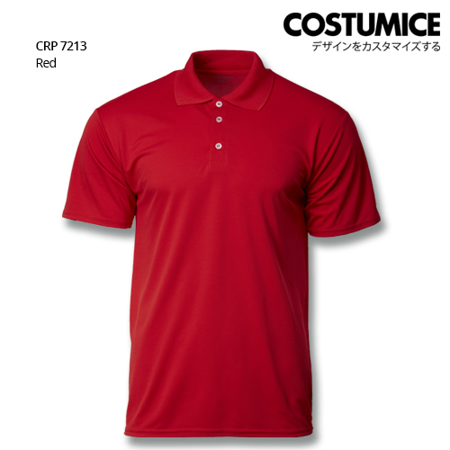 Costumice Design Quick Dry Polo CRP 7213 Red