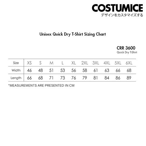 Costumice Design Quick Dry T-shirt 3
