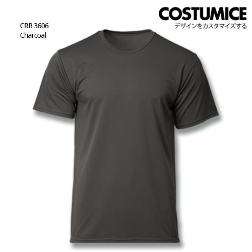 Costumice Design Quick Dry T-shirt CRR 3606 Charcoal