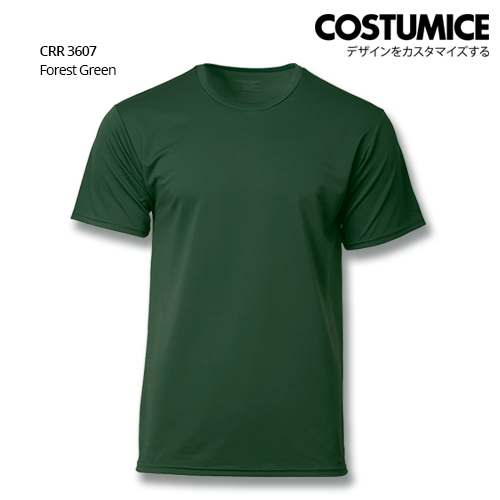 Costumice Design Quick Dry T-shirt CRR 3607 Forest Green