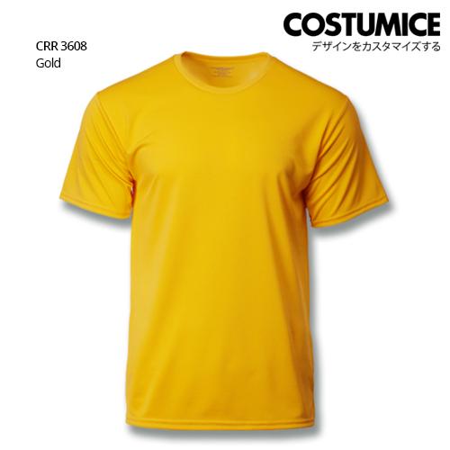Costumice Design Quick Dry T-shirt CRR 3608 Gold