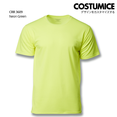 Costumice Design Quick Dry T-shirt CRR 3609 Neon Green