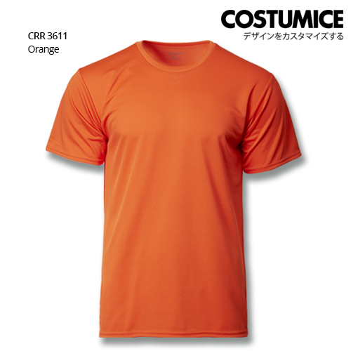 Costumice Design Quick Dry T-shirt CRR 3611 Orange