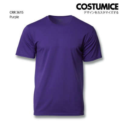 Costumice Design Quick Dry T-shirt CRR 3615 Purple