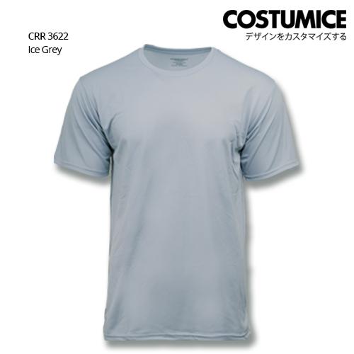 Costumice Design Quick Dry T-shirt CRR 3622 Ice Grey