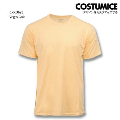 Costumice Design Quick Dry T-shirt CRR 3623 Vegas Gold