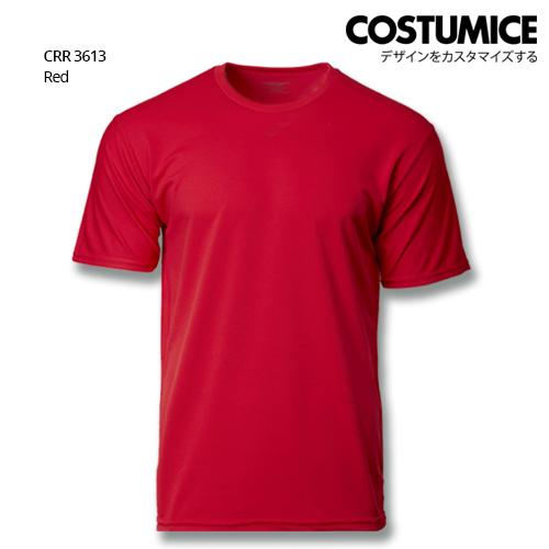 Costumice Design Quick Dry T-shirt CRR3613 Red