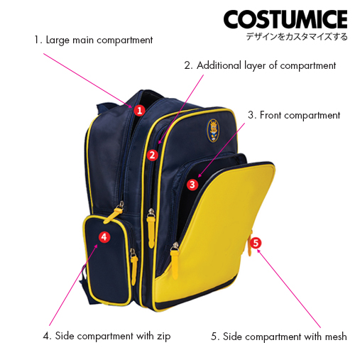Costumice Design student backpack 8