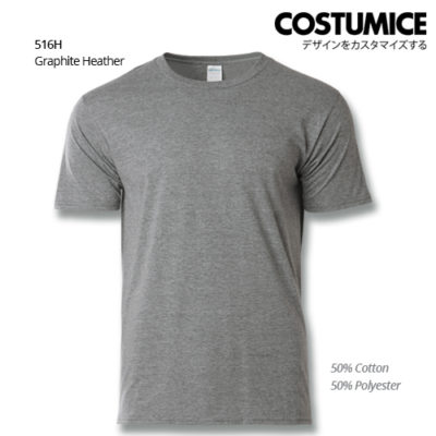 Costumice design basic cotton Graphite Heather