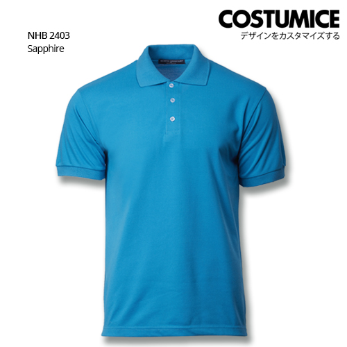 Costumice design soft touch polo NHB 2403 Sapphire