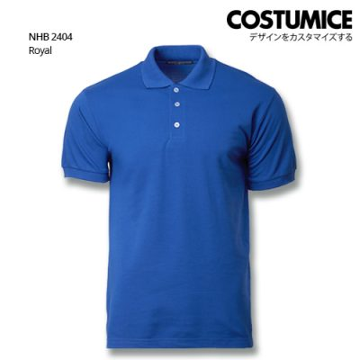 Costumice design soft touch polo NHB 2404 Royal