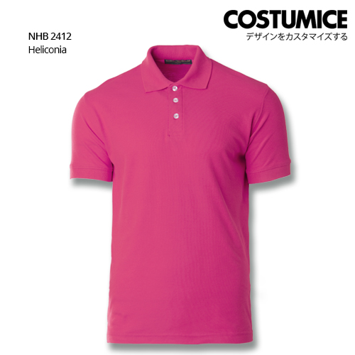 Costumice design soft touch polo NHB 2412 Heliconia