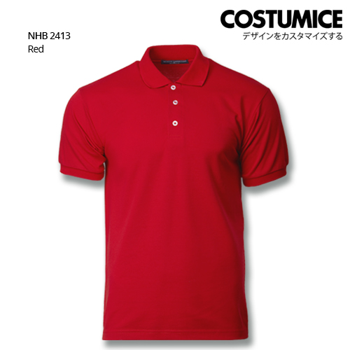 Costumice design soft touch polo NHB 2413 Red