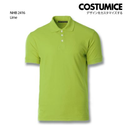 Costumice design soft touch polo NHB 2416 Lime