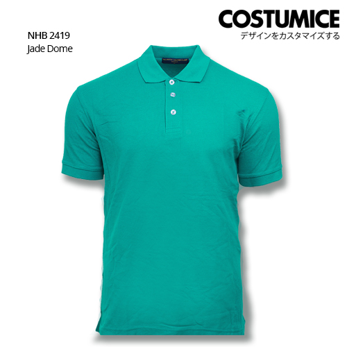 Costumice design soft touch polo NHB 2419 Jade Dome