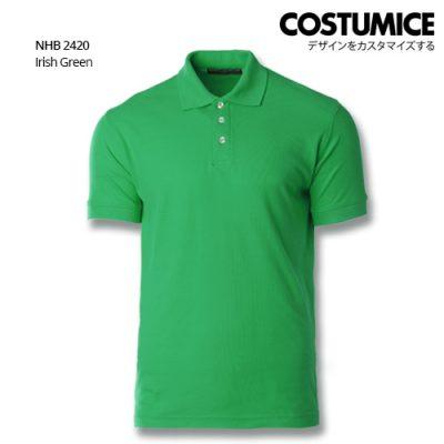 Costumice design soft touch polo NHB 2420 Irish Green