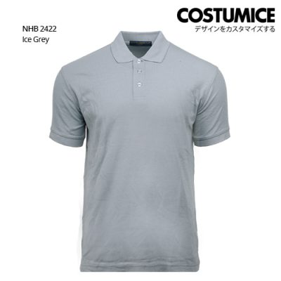 Costumice design soft touch polo NHB 2422 Ice Grey