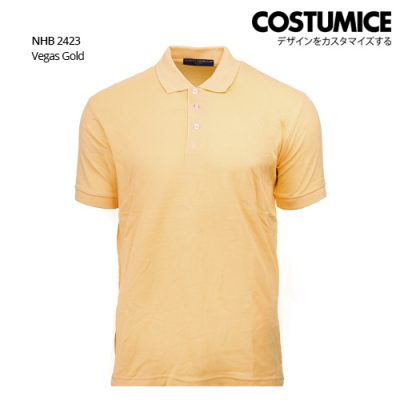 Costumice design soft touch polo NHB 2423 Vegas Gold
