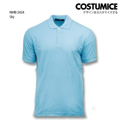 Costumice design soft touch polo NHB 2424 Sky
