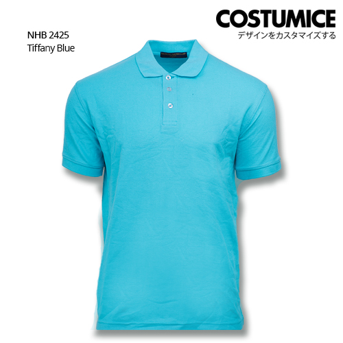 Costumice design soft touch polo NHB 2425 Tiffany Blue