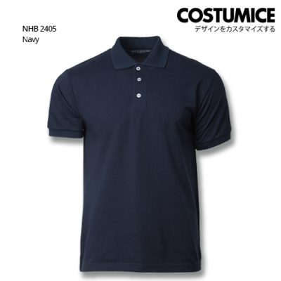 Costumice design soft touch polo NHb 2405 Navy