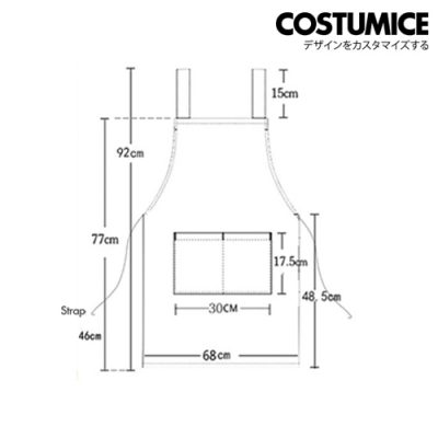 Oil Water Stain proof apron 8
