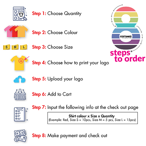 costumice design apparel how to order