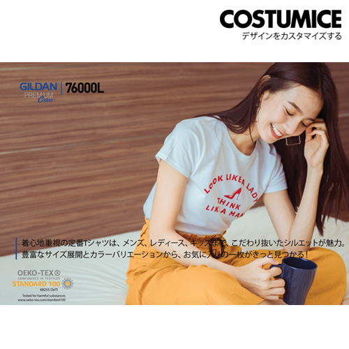 costumice design ladies premium cotton t-shirt 2