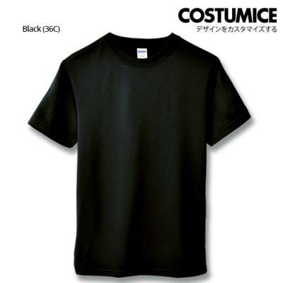 costumice design quick dry mesh t-shirt-black