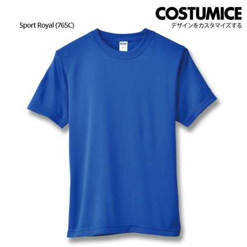 costumice design quick dry mesh t-shirt-sport royal