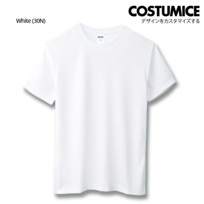 costumice design quick dry mesh t-shirt-white