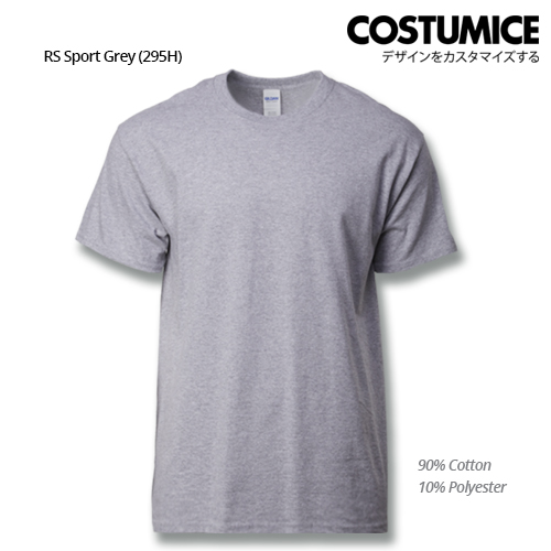 costumice design ultra cotton t-shirt-RS Sport Grey