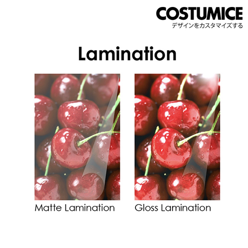Costumice Design paper bag lamination