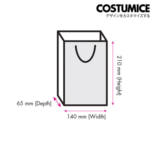 Costumice Design small paper bag 2