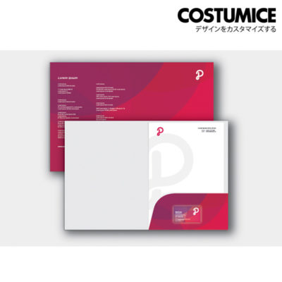 Costumice design A4 corporate Folder 3