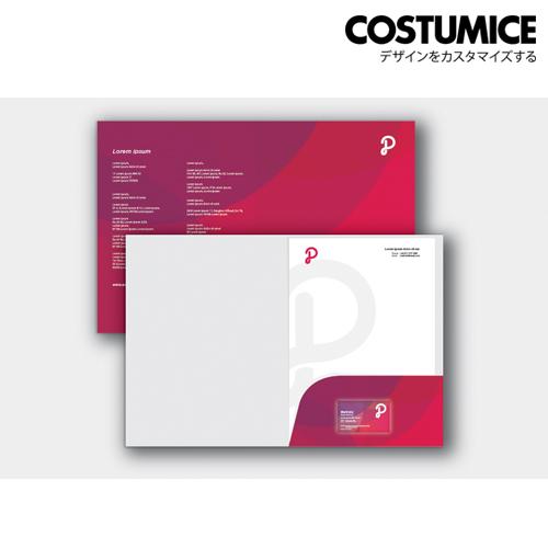 Costumice design A4 corporate Folder 3