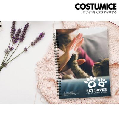 Costumice design A5 hard cover note Book 1