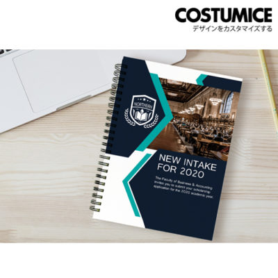Costumice design A5 hard cover note Book 2