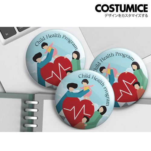Costumice Design Button Badge 6